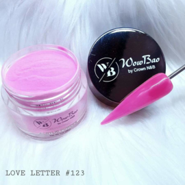 WowBao Nails acryl poeder nr 123 Love Letter 28g