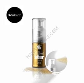 Silcare Glitter Spray goud 25g