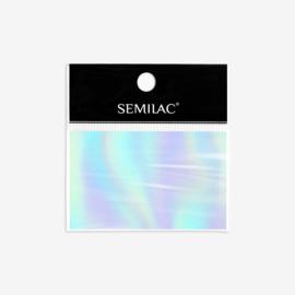 Semilac transfer folie 745 Holo Silver