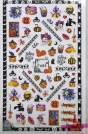 Nagelsticker Halloween F685