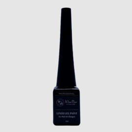 WowBao Nails Liner gel Paint Zwart