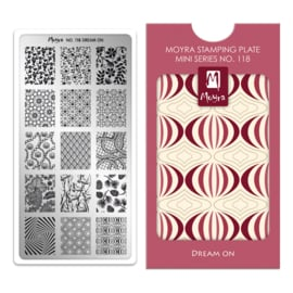 Moyra Mini Stempel Plaat 118 Dream On