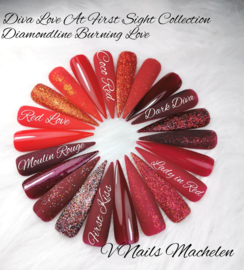 Metoe Nails Burning Love Spicy Red