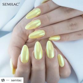 Semilac Flash Aurora Gold & Green 681 0,5g