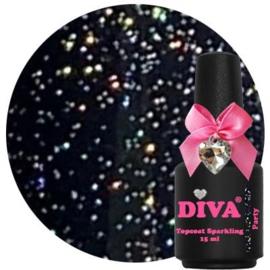 Diva Gellak Topcoat Party zonder plaklaag 15 ml