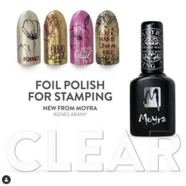 Moyra Stempel Folie Nagellak fp08 Clear