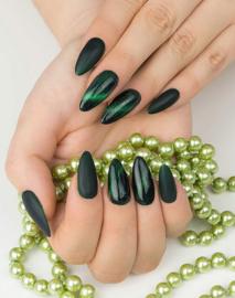 Semilac 3D Cat Eye gelpolish Green 634