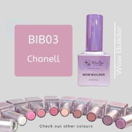 WowBao Nails Builder Gel BIB03 Chanell 15ml