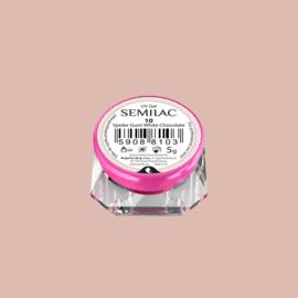 Semilac Spider Gum Gel 10 White Chocolate