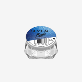 Semilac Flash Holo Blue 691 0,2g