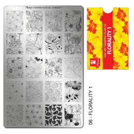 Moyra Stempel Plaat 06 Florality 1