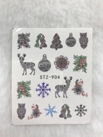 Waterdecal winter 904