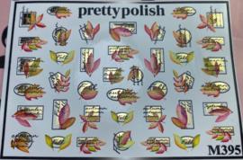 Pretty Polish | Slider | Waterdecal M395 - Herfst