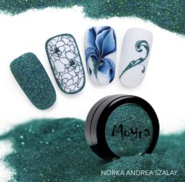 Moyra Glitter Powder 27 turquoise holo