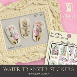 Moyra Water Transfer Nailart Sticker 26