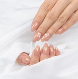 Semilac Extend 5 in 1 804 Glitter Soft Beige (rubber base)  7ml