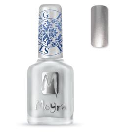 Moyra Stempel Nagellak sp08 Silver