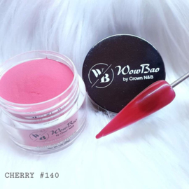 WowBao Nails acryl poeder nr 140 Cherry 28g