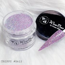 WowBao Nails acryl poeder Glitter nr G612 Trippy 28g