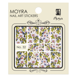 Moyra Water Transfer Nailart Sticker 32