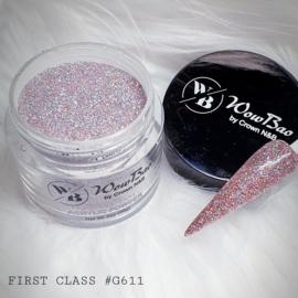 WowBao Nails acryl poeder Glitter nr G611 First Class 28g