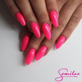 Semilac gelpolish 043 Electric Pink 7ml
