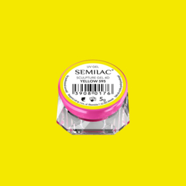 Semilac Sculpture Gel 4D Yellow 595