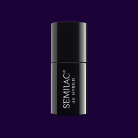 Semilac gelpolish 089 Black Plum 7ml