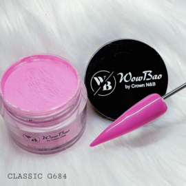 WowBao Nails acryl poeder nr G684 Classic 28g
