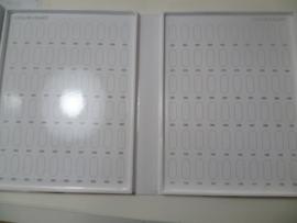 Nagellak boek wit leeg + gratis 120 tips kleuren presentatie