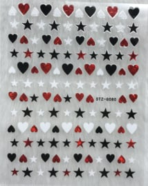 Nagelsticker Valentijn G080