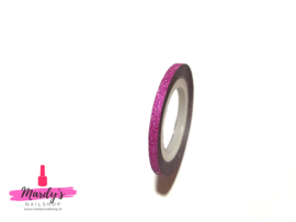 Striping Glitter Tape Roze 3mm
