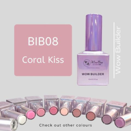 WowBao Nails Builder Gel BIB08 Coral Kiss 15ml