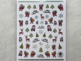 Nagelsticker Kerst CL-036