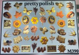Pretty Polish | Slider | Waterdecal M390 - Herfst