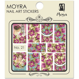 Moyra Water Transfer Nailart Sticker 21