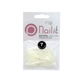 Pure Nails Tips Natural Full Well Refill 50st.