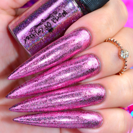 World of Glitter - Galaxy Pink Holographic Chrome Dust