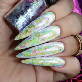 World of Glitter - Ultraviolet Nail Flakes