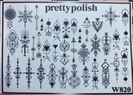 Pretty Polish | Slider | Waterdecal W820
