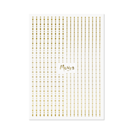 Moyra Nail Art Strip Dots 01 Goud