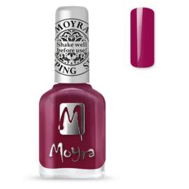 Moyra Stempel Nagellak sp40 Amaranth Red