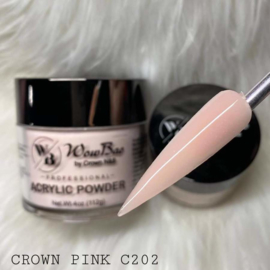 WowBao Nails acryl poeder 202 Crown Pink 56g
