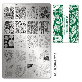 Moyra Stempel Plaat 10 Florality 2