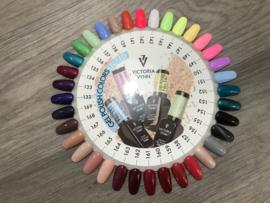 Victoria Vynn Colorwheel Salon gelpolish 132 t/m 169 04