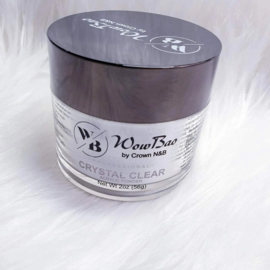 WowBao Nails acryl poeder Crystal Clear 56g