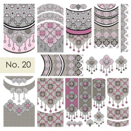 Moyra Water Transfer Nailart Sticker 20