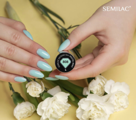 Semilac Extend 5 in 1 808 Pastel Mint (rubber base)  7ml