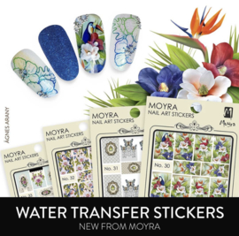 Moyra Water Tranfer Nailart Sticker 30