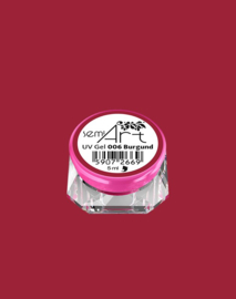 Semilac SemiArt nailart gel 006 Burgund